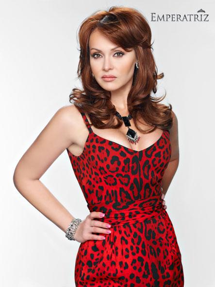 Emperatriz de TV Azteca Gaby Spanic Bernie Paz Miriam Higareda ...